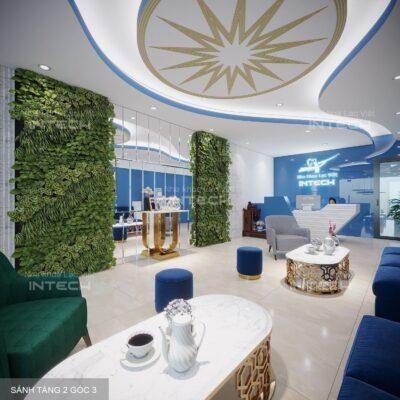 Nha khoa Lạc Việt Intech Hải Phòng được đầu tư khang trang với hệ thống phòng ốc hiện đại, đầy đủ ánh sáng.